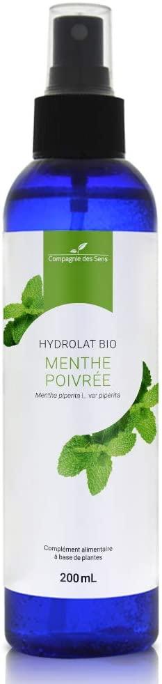 hydrolat bio de menthe poivrée