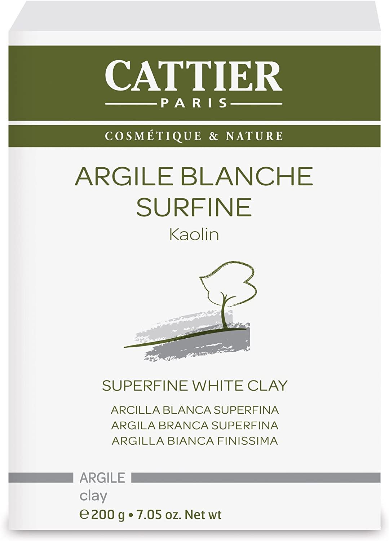 argile blanche surfine cattier